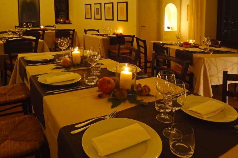 Il ristorante interno